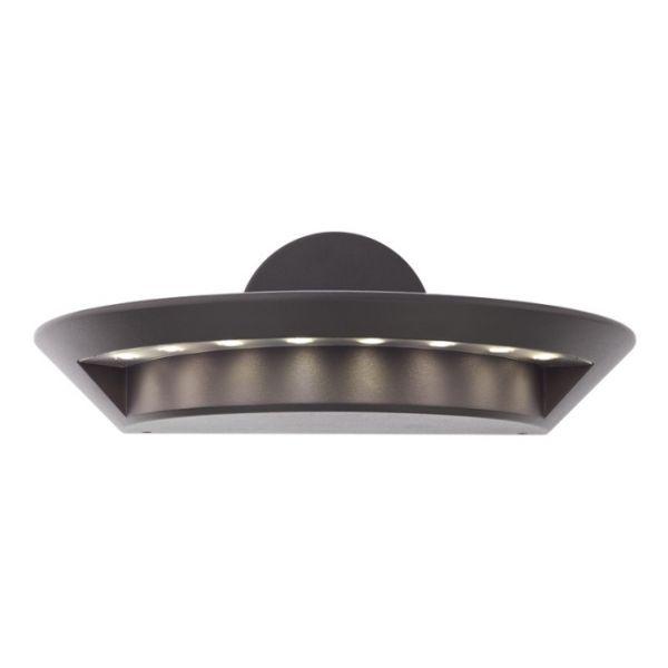 Corpuri de iluminat exterior APLICA PERETE GRI LED 8X3W PLATE 9408 REDO.9408