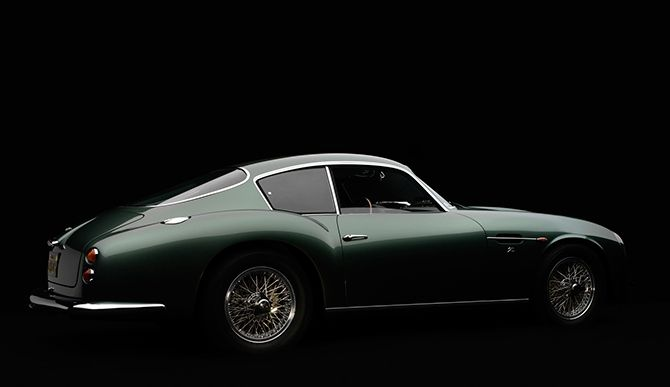 "1961 Aston Martin DB4 GT Zagato. ""An Italian body with a British heart."" Part of 18 vehicles at the High Museum of Art in Atlanta that were created in what could be called the golden age of design, from the early 1930s through the early 1960s."