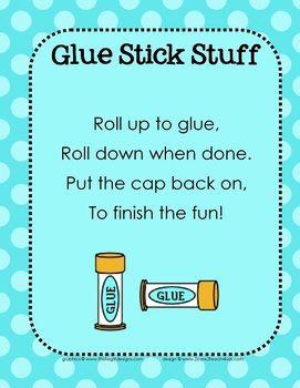 Glue stick chant