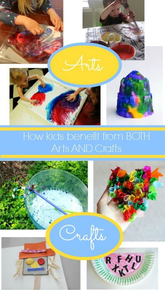 How Kids Benefit From Both Arts And Crafts From Amanda Morgan