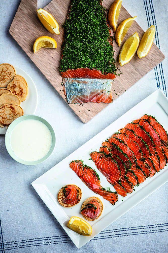 Cured Salmon - Gravad laks