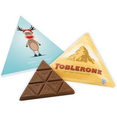 CHRISTMAS TOBLERONE CHOCOLATE BOX