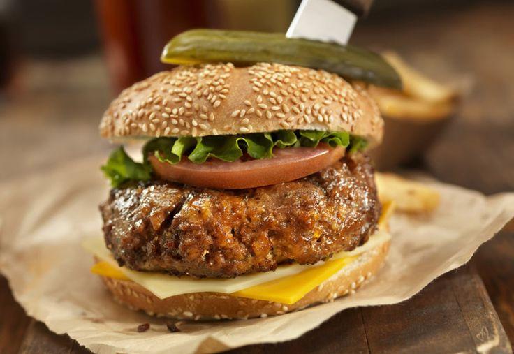 Hjemmelaget hamburger - oppskrift fra Stella