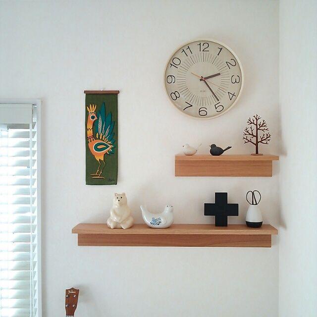 118   北欧雑貨/ヴィンテージタペストリー/無印良品/壁に付けられる家具/リビング…などのインテリア実例 - 2014-01-07 14:25:09 | RoomClip(ルームクリップ)