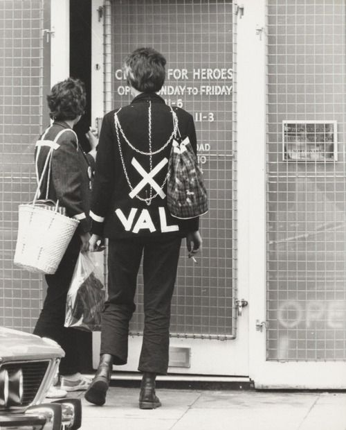 """superseventies:  Punks in London, Summer 1977.  """