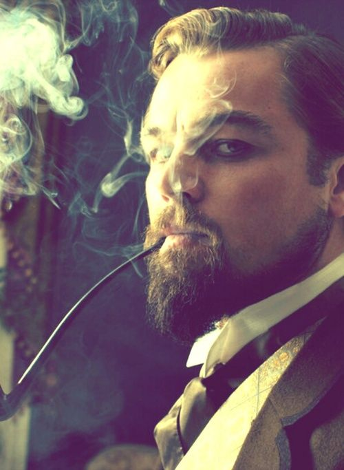 Leonardo DiCaprio Pipe Beard Cravat Wingtips [u gotta addmit he was so hot in this movie...a bit psychotic at times...but still]