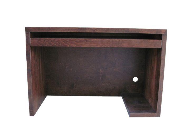 Biurko bukowe bez szuflad