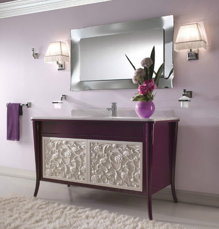 bathroom trendy design contemporary purple bathroom onarchitecturesite 35 photos of inspiring trendy bathroom ideas