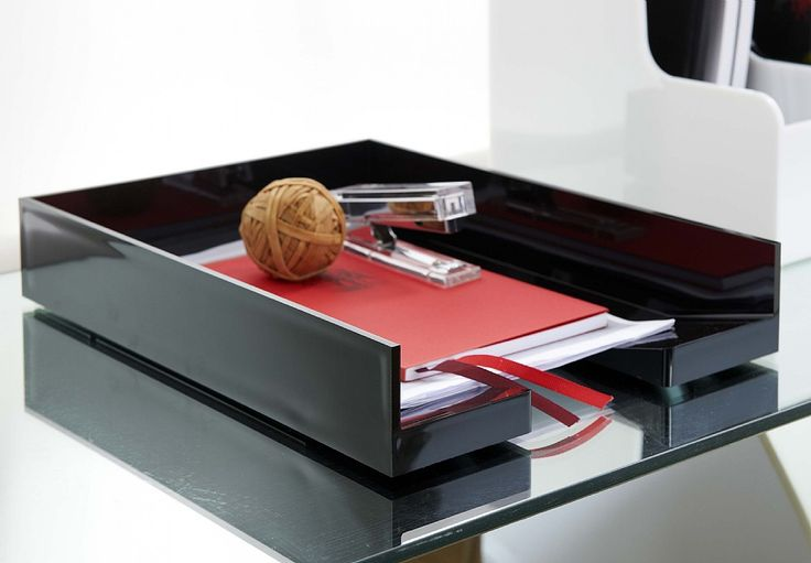 Keep Your Paperwork Tidy In This Minimalist Acrylic A4