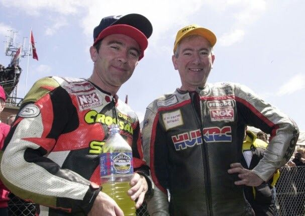 Brothers Robert and Joey Dunlop