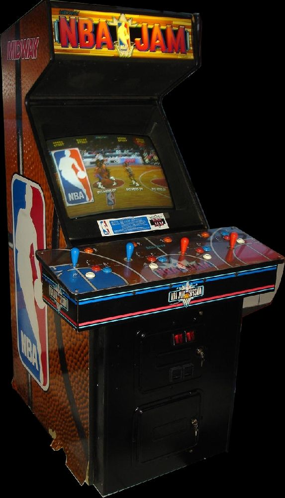 nba jams arcade machine