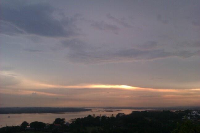 Sunset in Johor Bahru/Malaysia