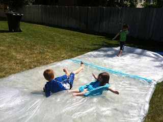 Utah County Mom Giant Quot Water Bed Quot Outside Sensory Bag