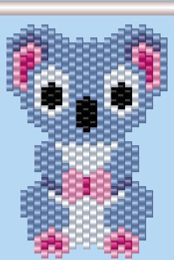 Koala Beading Pattern