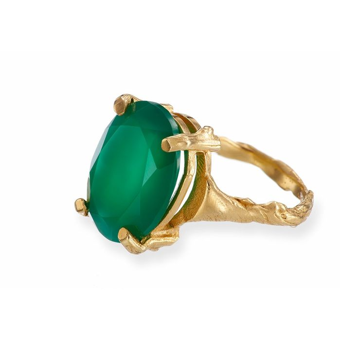 Beauty In The Wild Onyx Ring in Gold