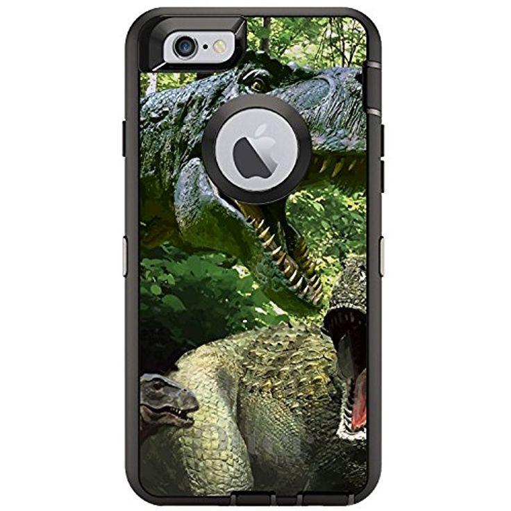 Custom black otterbox defender series case for apple