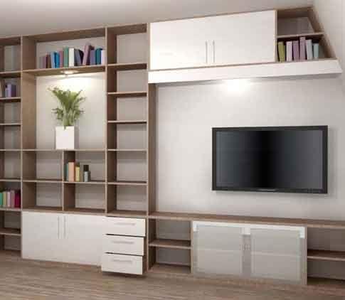 25 beste idee n over meuble tv sur mesure alleen op for Tele effet miroir