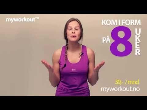 Trening på nett, Treningsvideoer, Treningsprogram - myworkout™