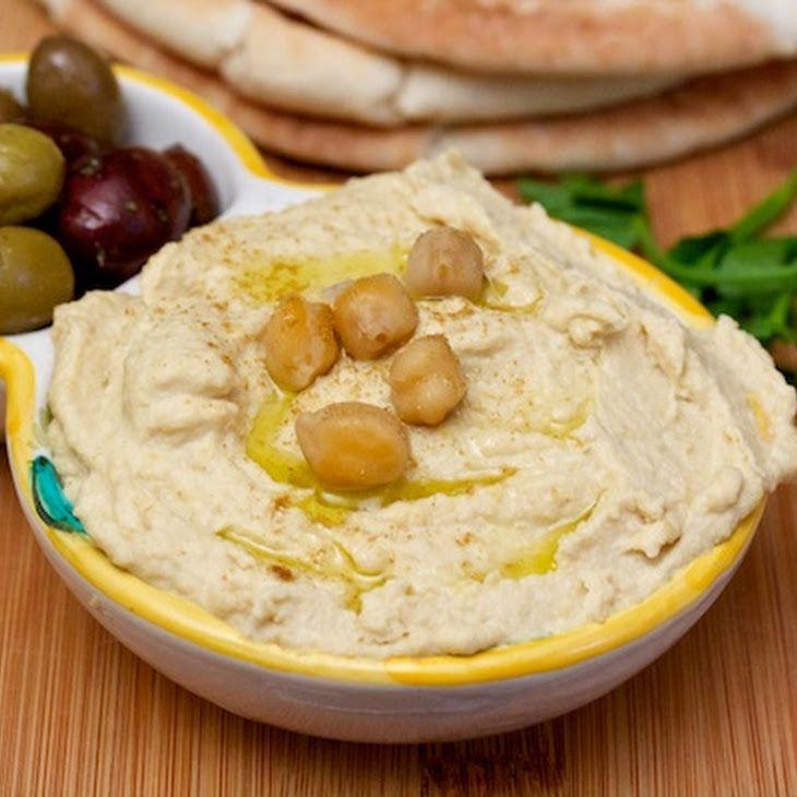 Rich Homemade Hummus Recipe | recipes | Pinterest