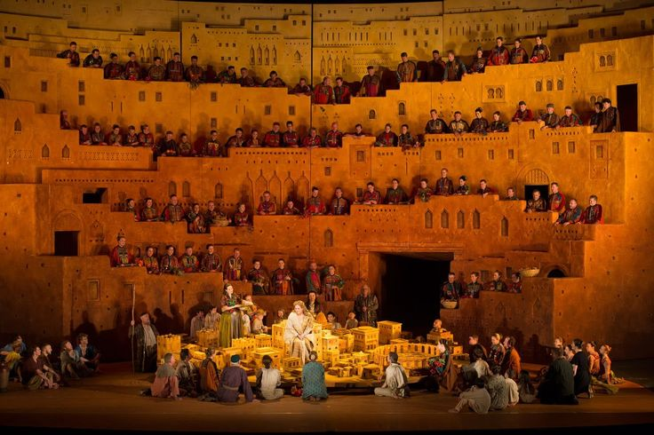 Royal Opera's set for Berlioz's Les Troyens in 2012. Production by David McVicar and set designs by Es Devlin. Read my opera and culture blog in The Telegraph: http://ow.ly/t81Ym