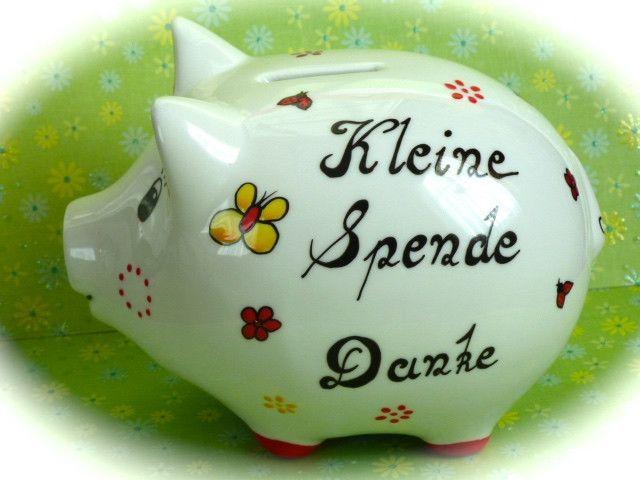 Sparschwein+Nr.+100+Kleine+Spende+von+*M&M+Bastelparadies*+auf+DaWanda.com