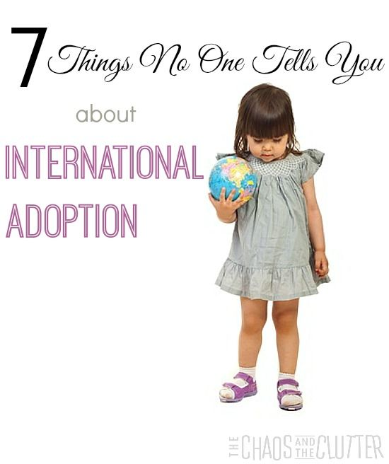 7 Things No One Tells You About International Adoption