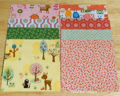 FairyFace Designs: {Sew} Get Started: Pram Blanket Tutorial