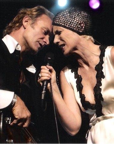 Annie Lennox & Sting