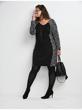 Plus Size Sweater Dress http://womanaccesories.space/shop/calvin-klein-womens-roll-sleeve-with-contrast-piping