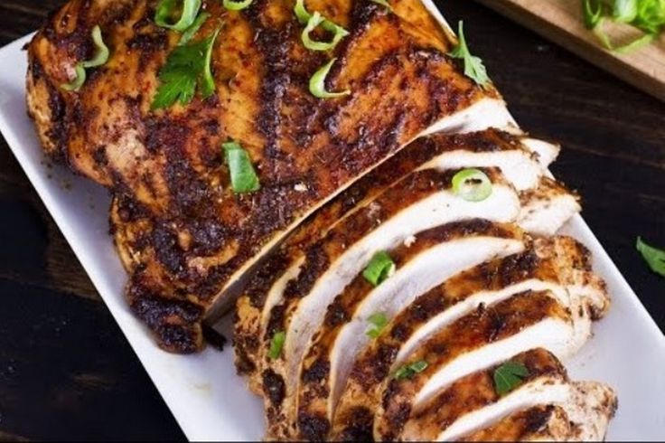 Cooking a marinated turkey breast