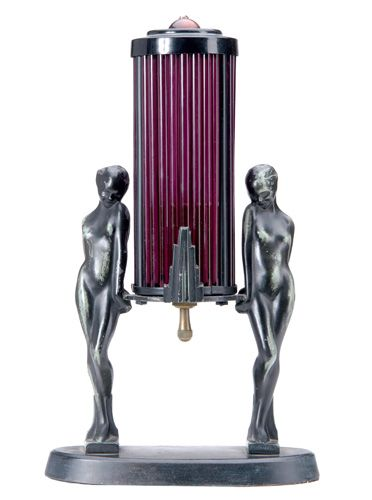 FRANKART Art Deco table lamp. by singerscoach