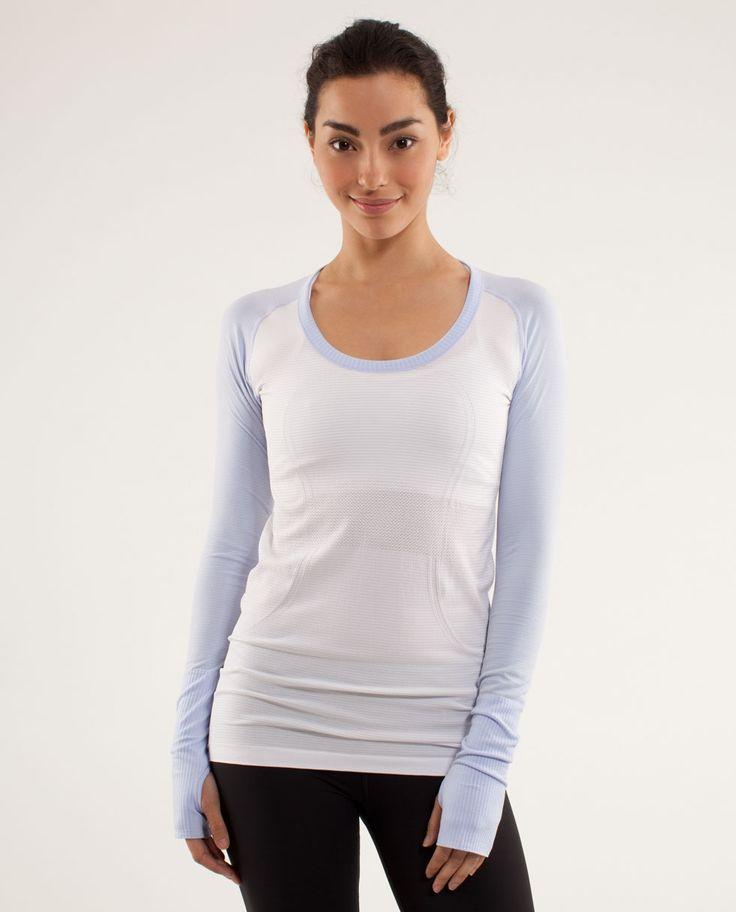 Lululemon long sleeve running shirt running inspiration for Long sleeve technical running shirt