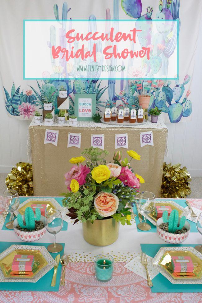 Succulent Bridal Shower Ideas Bridal Shower Bridal Shower