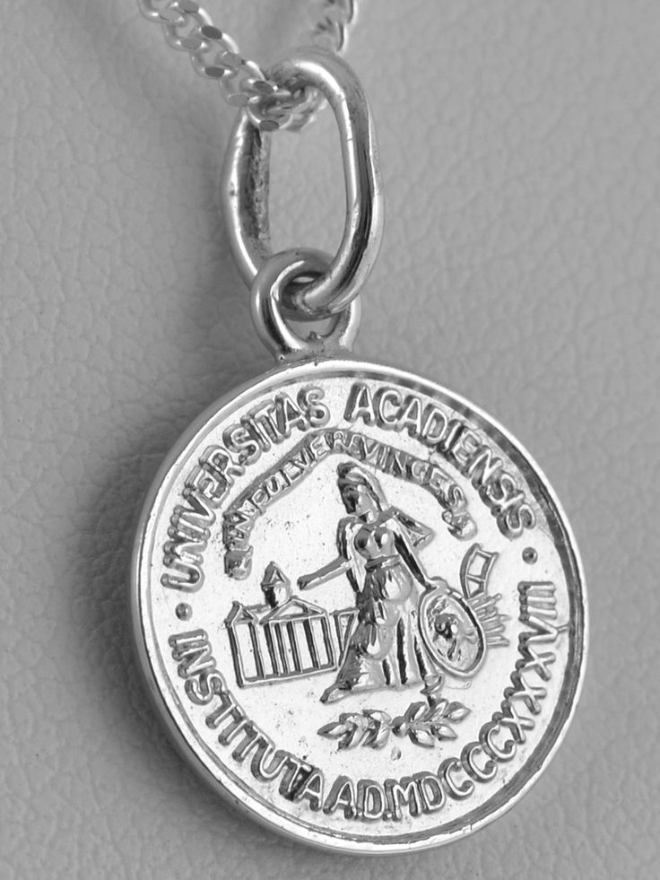 Acadia Seal pendant in Sterling SIlver