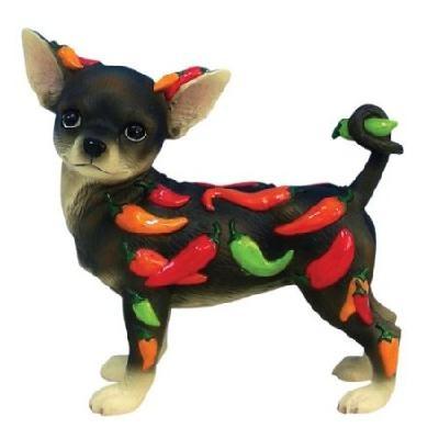Chihuahua Chili Peppers Figurine Yardseller Pinterest