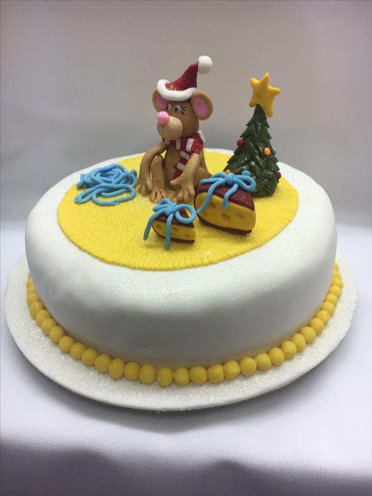 Mouse xmas cake