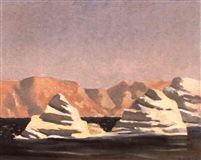 Les calanques by Rodolphe-Théophile Bosshard