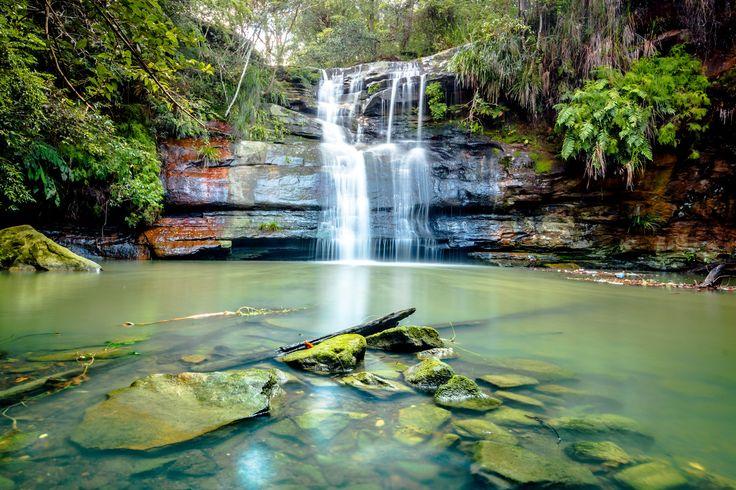 Lovers Jump Creek Waterfall photo