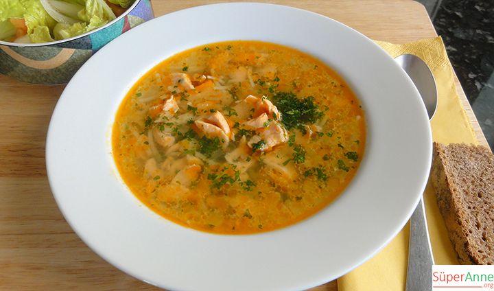 Somon Balığı Çorbası | Süper Anneden Kolay Yemek Tarifleri