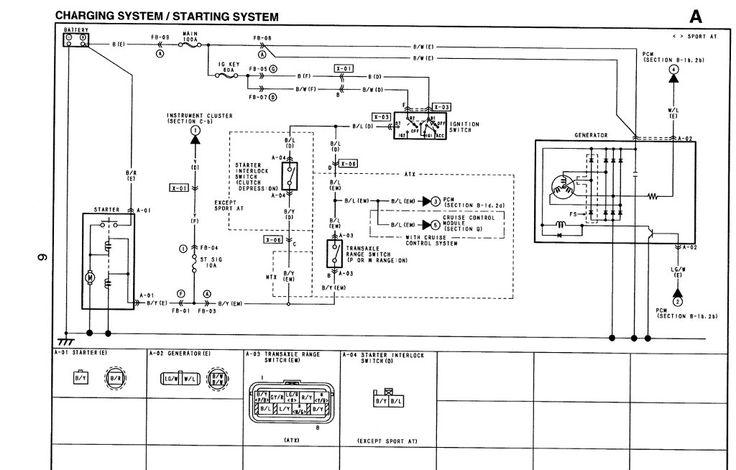 Alternator Upgrade Mod Rh Geometroforum Com Mazda Protege 5 Engine Diagram 2002 Mazda Protege