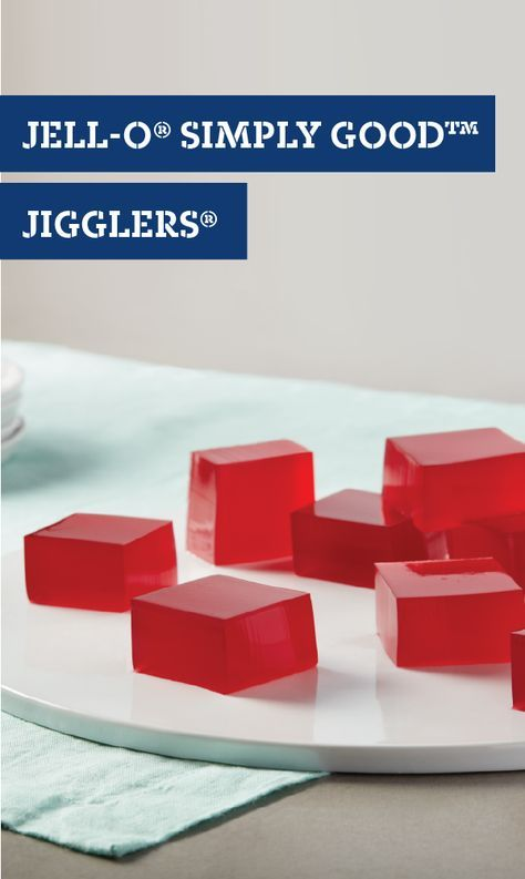 JELL-O® SIMPLY GOOD™ JIGGLERS® – You can't go wrong with JELL-O®! Whether you need an easy dessert for your spring party or a sweet treat for after school, this simple recipe is sure to be a favorite with your kids.