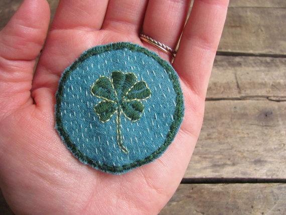 Five-Leaf Clover Merit Badge
