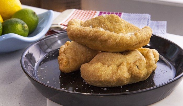 Panzerotti (Little Pies) by Adrian Richardson via Good Chef Bad Chef
