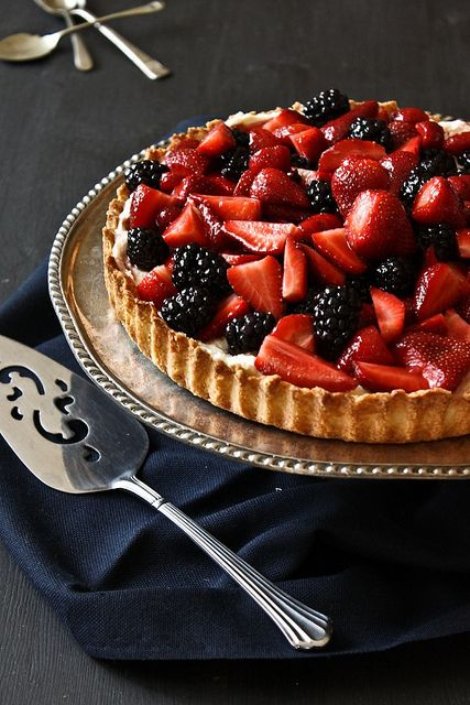Berry Mascarpone Tart by I'll Have What She's Having, via Flickr