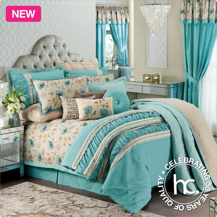 3 ways to bring beauty to your bedroom with the Robyn bedding set.