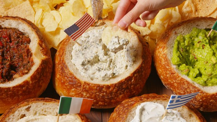These Olympic Bread Bowl Dips Will Have You Feeling Like An Champion