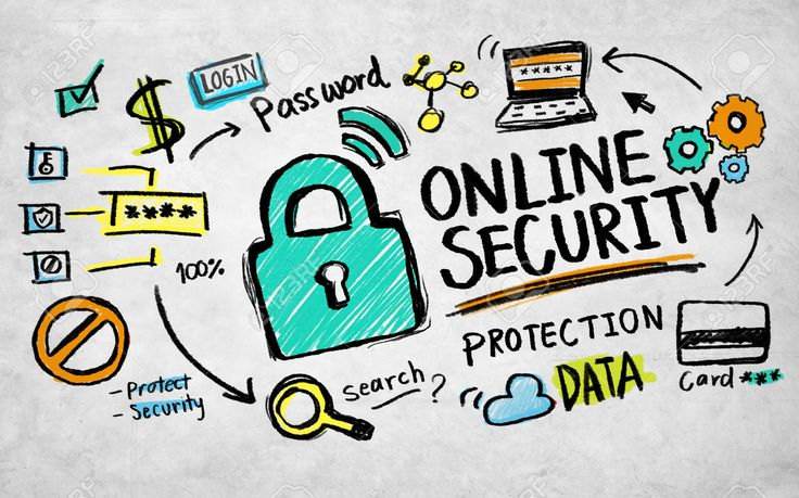 online safety is about being safe online and securing your personal information