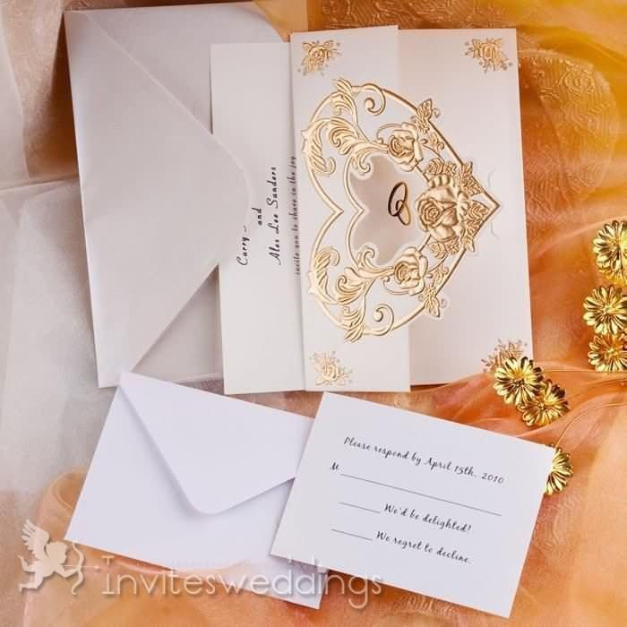 31 best images about ribbon wedding invitations on Pinterest