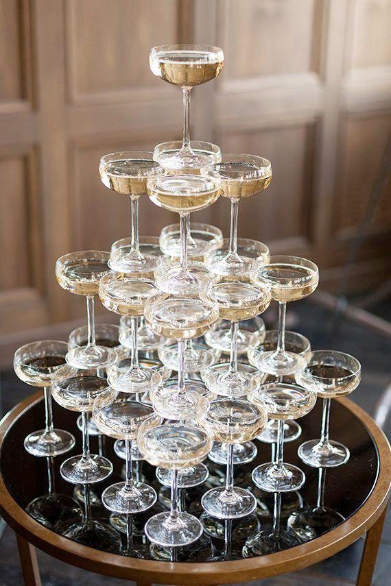 Så gör du ett champagnetorn till nyår – Sköna hem
