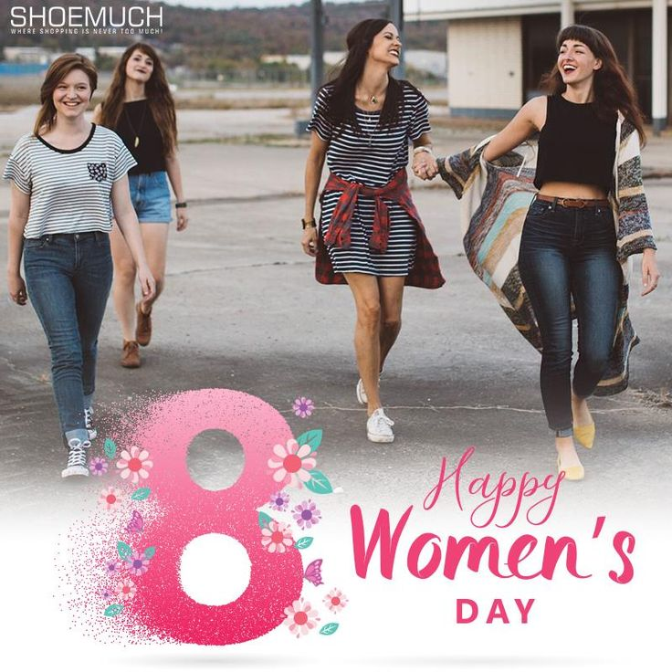 Feel special, unique, on top of the world..it's your day!! Happy Women's Day to all you gorgeous women in the world!  #WomensDay #WomenDaySpecial #8thMarch #ShoeMuch